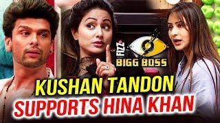 Kushal Tandon Supports Hina Khan Over RO Water Controversy | Bigg Boss11
