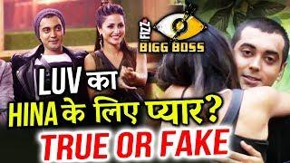 Do You Think Luv Tyagi Has Feelings For Hina Khan | Bigg Boss 11