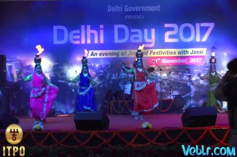 Delhi Day Celebrations - Performance 3 at iitf 2017