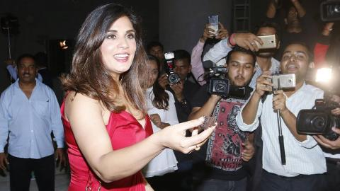 Richa Chadha Celebrates Her Birthday With Media - Interview