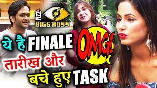 Bigg Boss 11 FINALE DATE, REMAINING Task - All You Need To Know