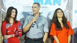 Aaj Se Teri Song Launch | PADMAN | Akshay Kumar, Radhika Apte, Twinkle Khanna