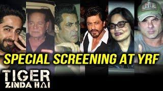 Tiger Zinda Hai Special Screening At YRF | Salman Khan, Shahrukh Khan, Sohail Khan