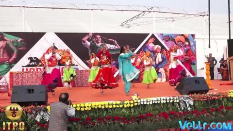 Haryana State Day Celebrations - Performance 2 Part 2 at iitf 2017