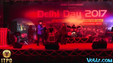 Jasbir Jassi Performing at Delhi Day Celebration Part 5 - 37th iitf 2017