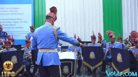 CRPF Band Performing at 37th India International Trade Fair 2017