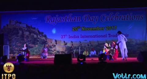 Rajasthan Day Celebrations - Performance 2 at 37th India International Trade Fair 2017