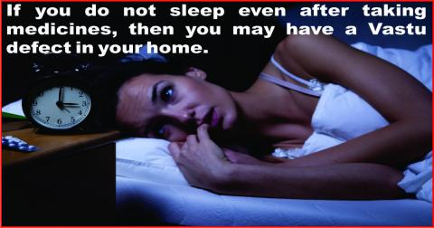 Vastu defects can bring Insominia.