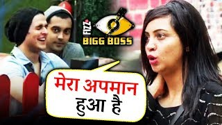 Arshi Khan FEELS INSULTED Coz She Got Evicted Before Luv And Priyank   Bigg Boss 11