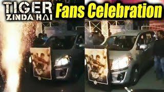 Salman Khan FANS Celebrate Tiger Zinda Hai SUCCESS