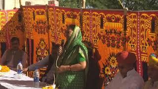 Gram Seva sahkari Bhawan shilanyas karyakram at Khabda Khurd vidhansabha Osian