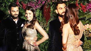 Anushka Sharma And Virat Kohli's GRAND ENTRY At Wedding Reception In Mumbai