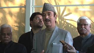 AICC Media Byte by Ghulam Nabi Azad on Union Minister Ananthkumar Hegde's controversial statement
