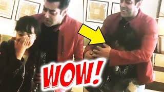 Salman Khan SPECIAL Moment With His Die-Hard Fan Will Melt Your Heart