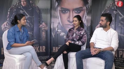 The Short Talk - When Shraddha and Siddhanth Broke Down While Shooting For Haseena Parkar