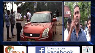 North Goa Rent A Car Association Members Stop Self Rented Cars From South Goa