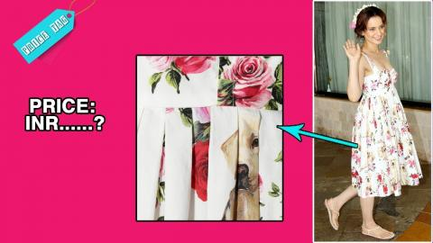 PriceTag - The price of Kangana's cute dress is sure to give you a mini heart-attack!