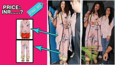 PriceTag: Priyanka Chopra Slays With Her Pyjama Outfit