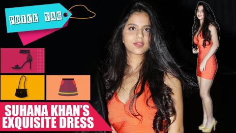 Price Tag - Suhana Khan's Exquisite Dress