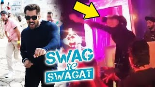 Hardik Pandya DANCES On Salman's SWAG SE SWAGAT | Tiger Zinda Hai