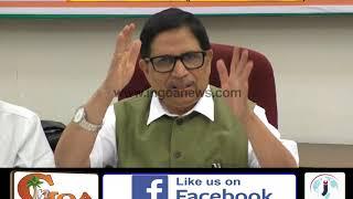 Parikkar should apologise, says Shantaram Naik