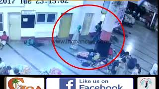 {CCTV Footage}Child kidnapped from Margao Railway station