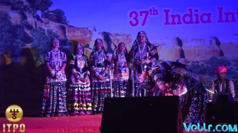 Rajasthan Day Celebrations - Performance 3 at 37th India International Trade Fair 2017