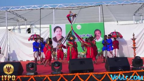 Tamil Nadu State Day Celebrations - Performance 1 at iitf 2017