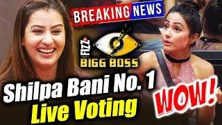 Shilpa Shinde BEATS Hina Khan In LIVE VOTING, Shilpa Shinde CREATES History | Bigg Boss 11