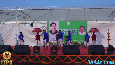Tamil Nadu State Day Celebrations - Performance 2 Part 1 at iitf 2017