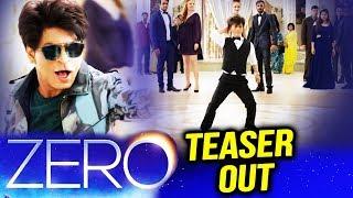 Shahrukh Khan's ZERO TEASER Out | Shahrukh Khan As DWARF | Katrina Kaif | Anushka Sharma