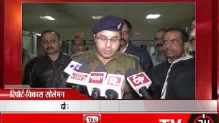 कानपुर - बदमाशो और पुलिस में मुठभेड़