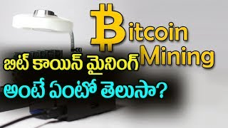 Everything you need to know about Bitcoin mining | Top Telugu TV
