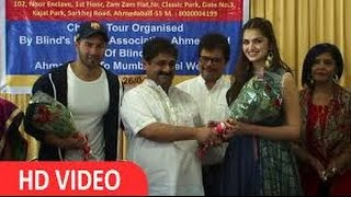 Varun Dhawan's Memorable Time With Blind Girls At NGO Blind's Dream