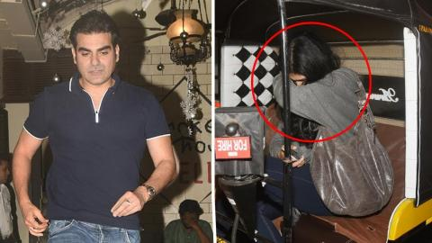 Arbaaz Khan SPOTTED With New Girlfriend At Bandra