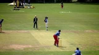 Lanka Lions vs. Alexandra Township Chiefs - Last Man Stands World Championships 2013