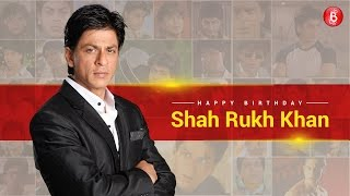 The glorious journey of the most glamorous star Shah Rukh Khan on his 51st birthday!