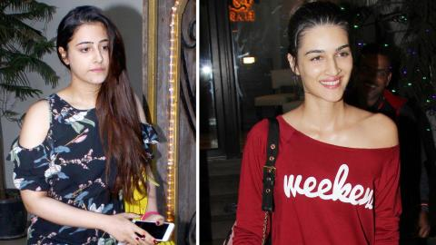 Kriti Sanon SPOTTED With Sister At Myrah Salon