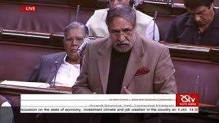 Anand Sharma's speech   Short Duration Discussion on the state of economy