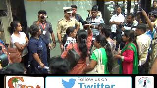 Para Teachers Heckle Chief Minister, Parrikar Refuses to Meet