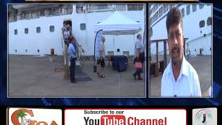 Luxury Cruise Ship Docks at MPT With 658 Passengers