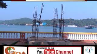 Obstructions On Panjim Footpaths