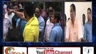 Ruckus At Bandora Gram Sabha; Dhavlikar Firm on Sewage Treatment Plant