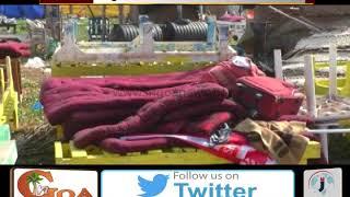 Cyclone Ockhi: Morjim beach shacks flooded by high tides