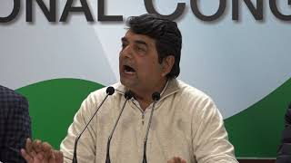 AICC Press Briefing by RPN Singh on failure of agricultural economy and distress of farmers