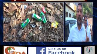 Anti Social Elements Drinking & Creating Nuisance At Religious Places In Mormugao