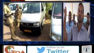 North Goa Tourist Taxi Owners Want Permit To Operate At Thivim Railway Station
