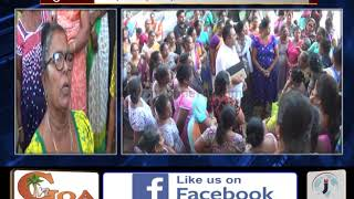 Mormugao Fish Vendors On Strike