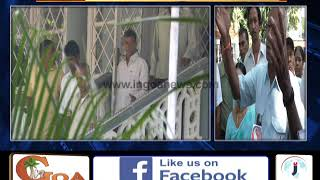 Farmers Demand Road To Go In Their Fields At Cumbarjua