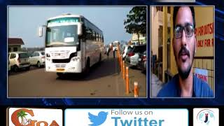 """Panjim The City Of Portuguese"" Written On a Tourist Bus Sparks Controversy In Vasco."
